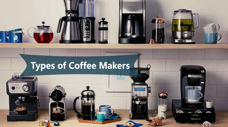 Types of Coffee Makers Image
