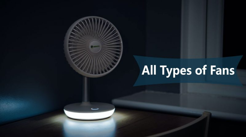 Types of Fans Image