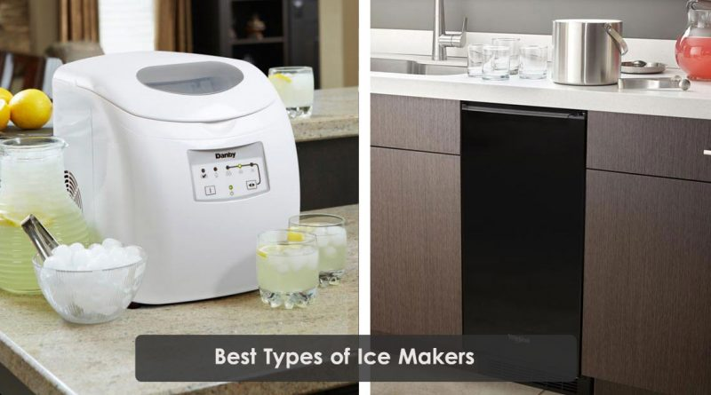 Types of Ice Makers Image