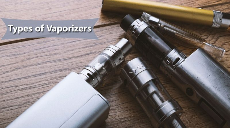Types of Vaporizers Image